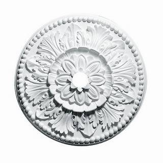 24 in. Grecian Leaves Medallion - 80324