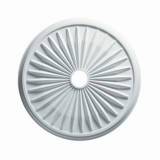 24 in. Sunburst Medallion - 80624