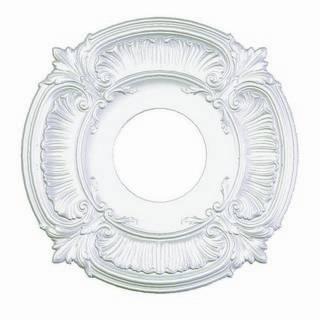 12 in. Acanthus Medallion - 81012
