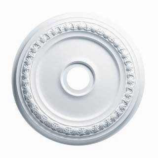 18 in. Shell & Bellflower Medallion - 83418