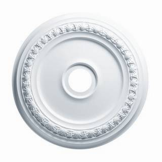 24 in. Shell & Bellflower Medallion - 83424