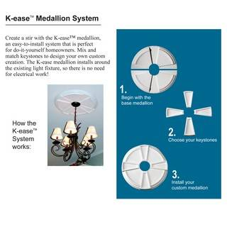 K-ease Medallion System Premier Base Medallion - 89024