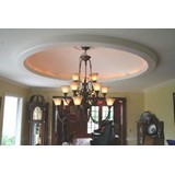 DM9906-56 - Plain Elliptical Light Cove Dome